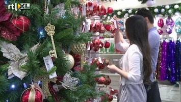 RTL Nieuws Eerste kerstshop al weer open in Londen