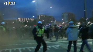 RTL Nieuws Slechte communicatie politie en ME bij rellen Utrecht