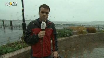 RTL Nieuws New Yorkers niet onder de indruk van Sandy