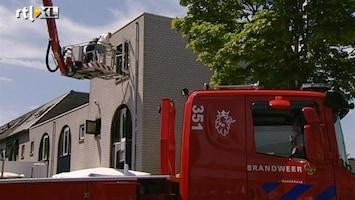 RTL Nieuws Brand Hoofddorp waarschijnlijk gezinsdrama