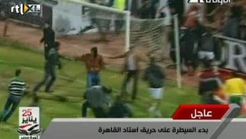 RTL Nieuws Egypte zoekt schuldigen voetbalgeweld