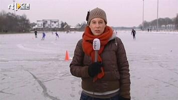 RTL Nieuws Kortebaanwedstrijden: Kraakijs is geen breekijs