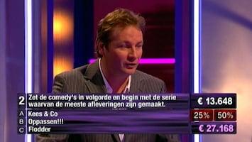 Bankgiroloterij: De Gemene Deler - Uitzending van 24-08-2008