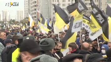 RTL Nieuws Nationalisten houden 'Russische mars'