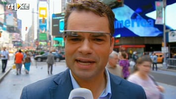 RTL Nieuws Met Google Glass door New York