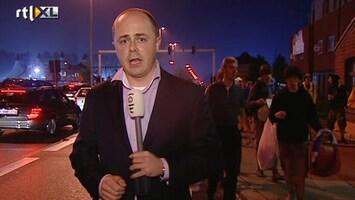 RTL Nieuws Chaos rond Pukkelpop-terrein