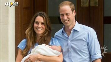 RTL Boulevard William en Kate met zoontje naar huis