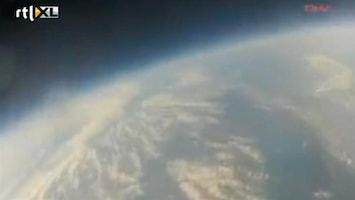 Editie NL Gaaf: ballon vliegt de ruimte in