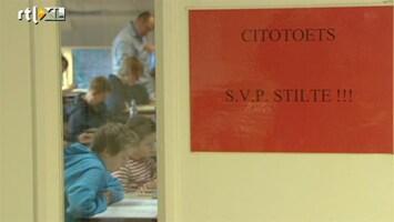 RTL Nieuws Cito-toets mag niet bepalend zijn voor schoolkeuze
