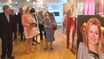 RTL Nieuws Koningin opent tentoonstelling over Máxima