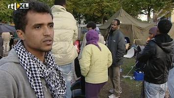 RTL Nieuws Tentenkamp asielzoekers in Osdorp mag blijven