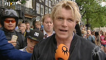 RTL Boulevard Hans Klok's spectaculaire dwangbuis ontsnapping