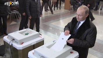 RTL Nieuws 'Veel mis bij verkiezingen Rusland'