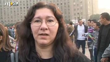 RTL Nieuws Vrouwen protesteren in Caïro