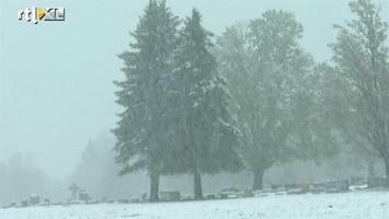 RTL Nieuws Lentesneeuw in de VS