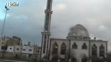 RTL Nieuws Syrische leger blijft Homs bestoken