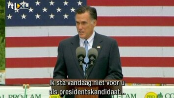 RTL Nieuws Romney: We moeten onze naasten troost bieden