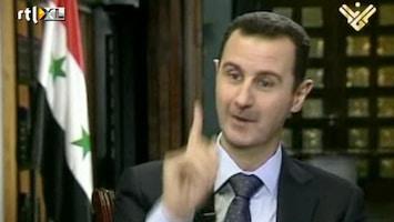 RTL Nieuws Assad vol zelfvertrouwen op Libanese tv