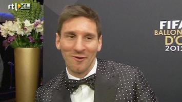 RTL Nieuws En weer pakt Messi de Gouden Bal