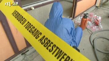 RTL Nieuws Veel asbest in scholen