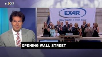 Rtl Z Opening Wall Street - Afl. 148
