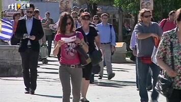 RTL Nieuws Grieken halen bankrekeningen leeg