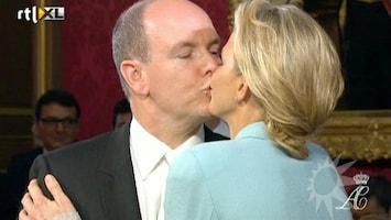 RTL Boulevard Prins Albert en Charlene geven elkaar het ja-woord