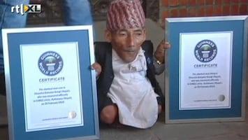 RTL Nieuws 72-jarige is kleinste man ter wereld