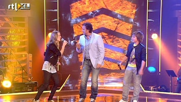 The Voice Kids Marco Borsato met Laura en Jesse - Go Your Own Way