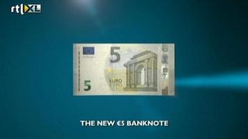 RTL Nieuws Nieuwe 5-eurobiljet gepresenteerd