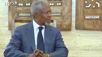 RTL Nieuws Kofi Annan stopt na mislukken eigen vredesplan Syrië