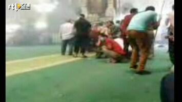 RTL Nieuws Vuurgevechten in moskee in centrum Caïro