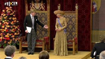 Editie NL De eerste troonrede van koning Willem Alexander