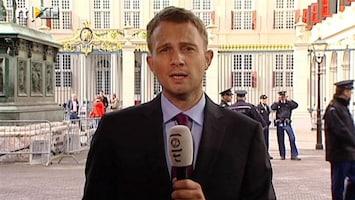 RTL Nieuws Den Haag stroomt langzaam vol Oranjefans