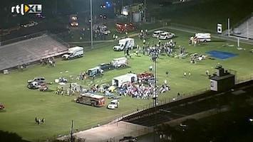 RTL Nieuws Enorme explosie blaast Texaans dorp van de kaart