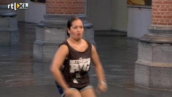 So You Think You Can Dance Robin is wat zenuwachtig...