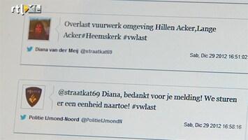 RTL Nieuws Vuurwerkoverlast aangepakt via twitter