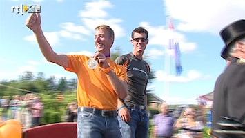 RTL Nieuws Eerste Olympische sporter in Nederland gehuldigd