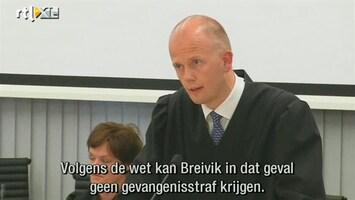 RTL Nieuws Aanklagers: Breivik ontoerekeningsvatbaar