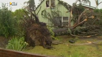 RTL Nieuws Tornado veroorzaakt ravage Nieuw-Zeeland