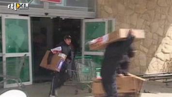 RTL Nieuws Argentijnse supermarkt massaal geplunderd