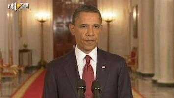 RTL Nieuws Obama's toespraak over Bin Ladens dood