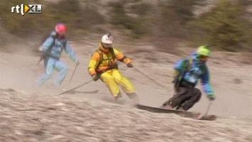 RTL Nieuws Skiën in sneeuwloze Alpen