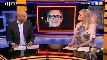 RTL Boulevard Rob de Nijs met vrouw en zoon in kettingbotsing