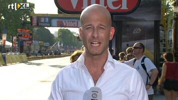 RTL Nieuws 100ste Tour, een verslag aan de finish