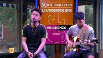 RTL Boulevard Livesessies: Vinchenzo