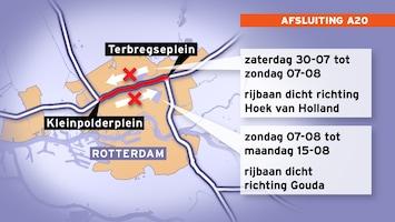 RTL Nieuws A20 twee weken lang dicht