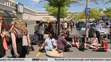 RTL Nieuws Flinke aardbevingen in Nieuw-Zeeland