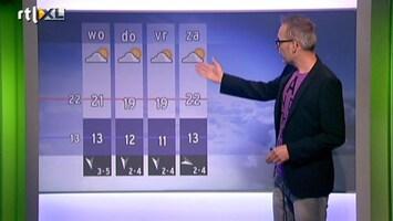 RTL Weer Buienradar Update 09 juli 2013 16:00 uur