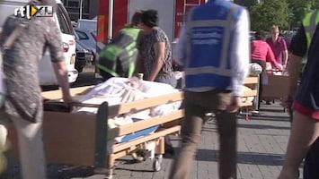RTL Nieuws Evacuatie zorgcentrum door grote brand
